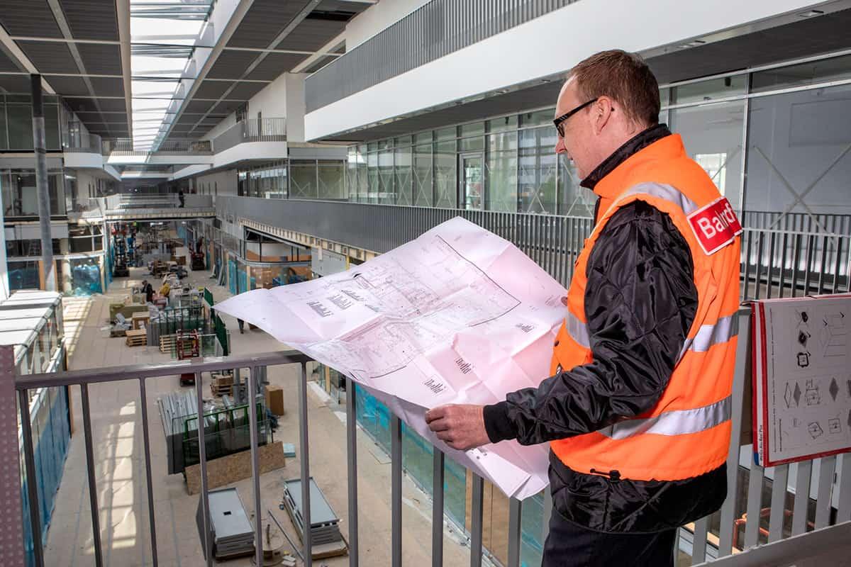 Baurabeiten im Hauptbahnhof Münster